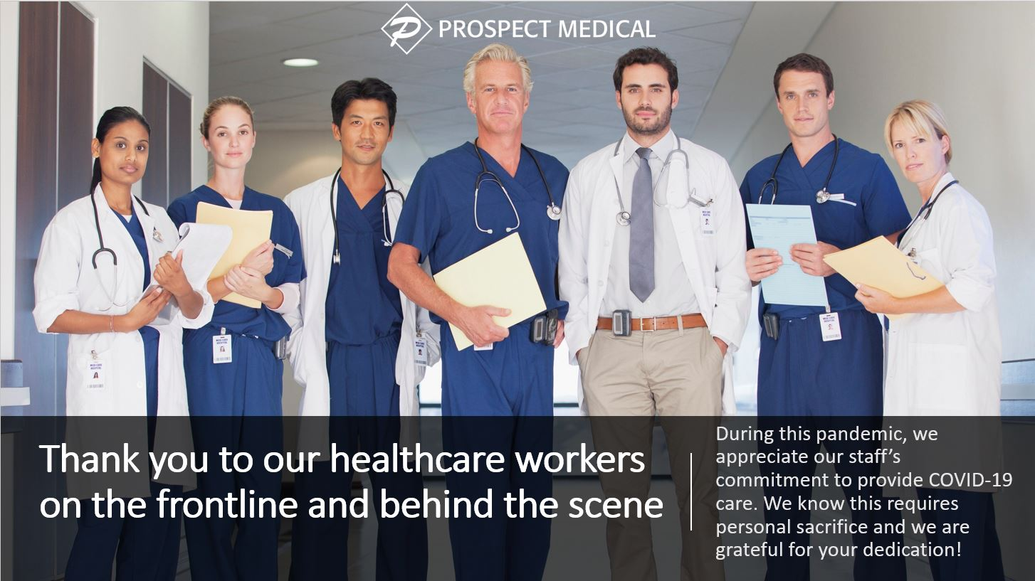 Prospect Healthcare Workers Thank You -3-25.JPG